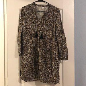 Old navy cheetah dress